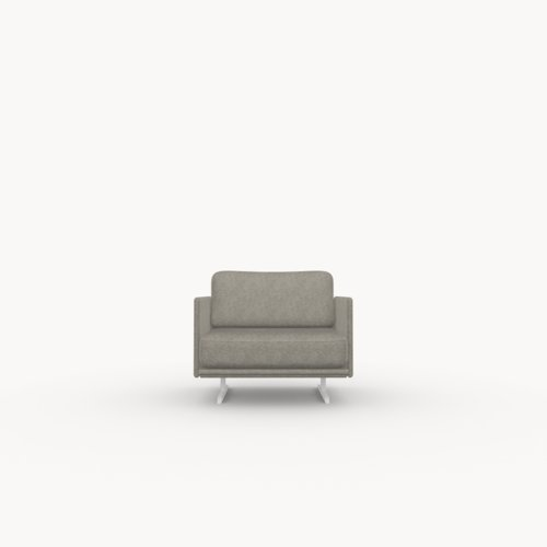 Modulo lounge chair 1 zits facet dolphin180 | Studio HENK | Listing_image